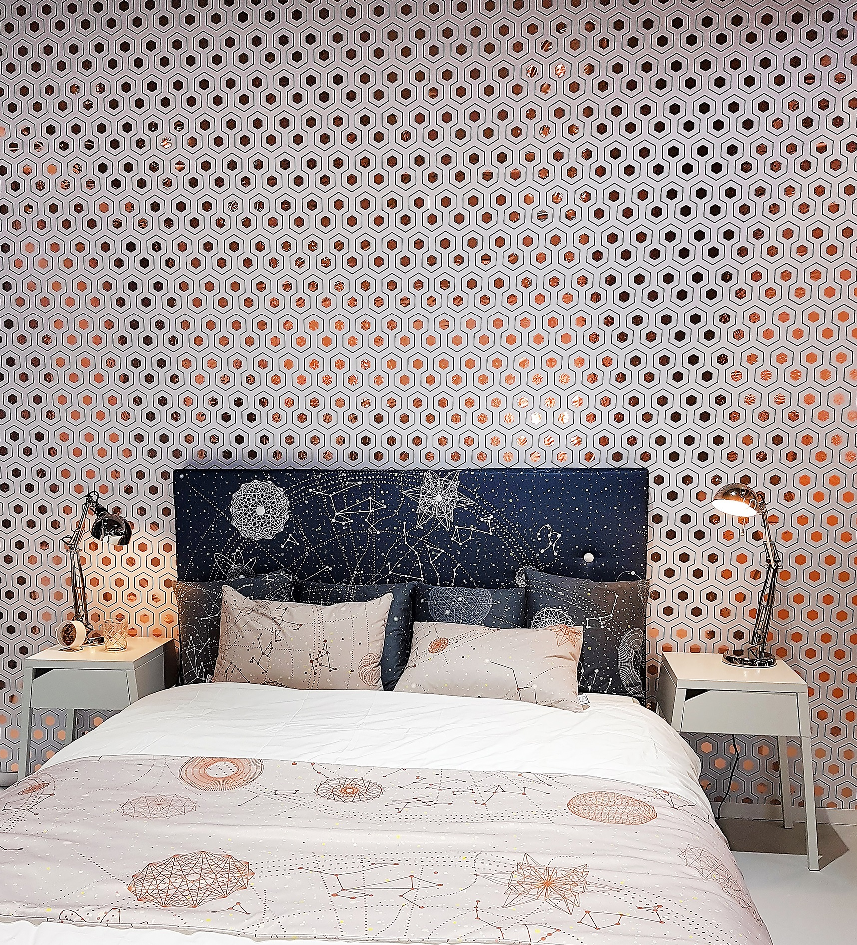 MetaliK Rose Gold Wallpaper Bedroom.jpg